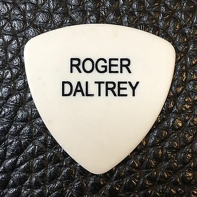 The Who - Roger Daltrey - Real Tour Guitar Pick