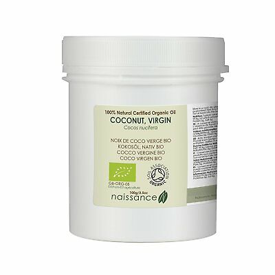 Naissance Virgin Coconut Oil 100g Certified Organic 100% Pure