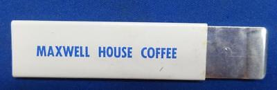 1950s-60s HANDY CUTTER RAZOR WITH MAXWELL HOUSE COFFEE ADVERTISEMENT - #NM106