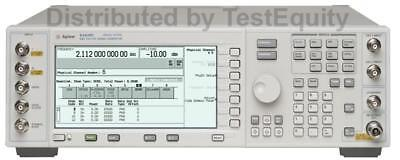 Agilent / Keysight E4438C 506 / 602 6 GHz Vector Signal Generator - Stock Photo
