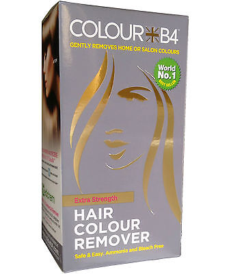 Colour B4 Hair Colour Remover Extra Strength For Darker Hair Colours