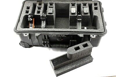 New Black Pelican ™ Storm ™ im2500 Case holds 6 / 4 Pistols +Storage Nameplate