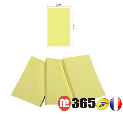 300 Remove Sticky Post Notes 51mm x 76mm Note repositionnable 300 notes adhésif