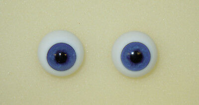 Light Blue #57 18mm German Glass Eyes Full Round - Irresistables Exclusive