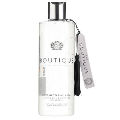 Grace Cole Boutique Shower Gel White Nectarine & Pear Cleansing 500ml