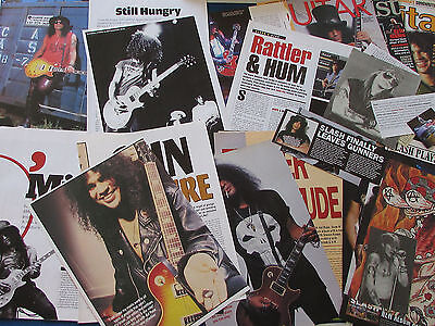 Joblot of Articles & Cuttings - Guns n' Roses - Heavy Slash content