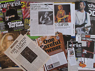 Joblot of Articles & Cuttings - Eric Clapton