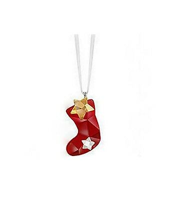 Swarovski Twinkling Stocking Ornament ~ 1054568 / 9400 000 281 ~ Mint In Box