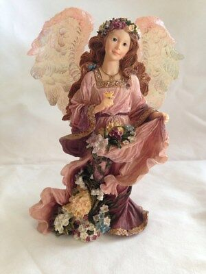 The Boyds Collection Charming Angels Collection - Olivia Guardian of Flora