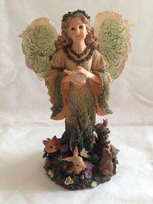 The Charming Angels Boyds Collection Floramella Guardian of Nature
