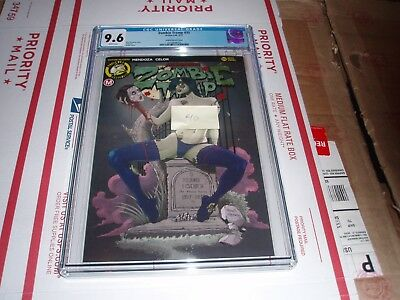 Zombie Tramp #35 Cgc 9.6 (Carrie Fisher Rodrix Nude Cover)