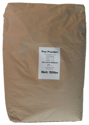 NEW 50 lbs 19% Crude Protein PEA POWDER Isolate Aminos for Animals Livestock etc