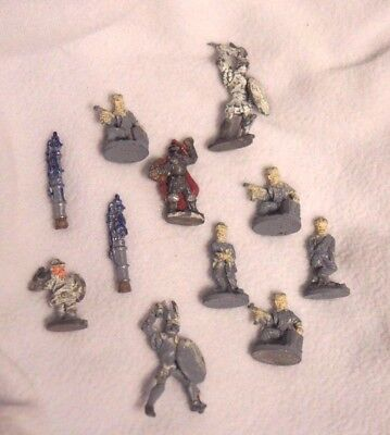 LOT of 11 Dungeons and Dragons Miniatures Misc