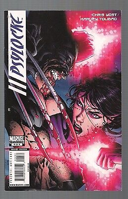 Psylocke #4 (Apr 2010, Marvel) Free Shipping