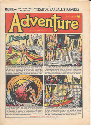 Adventure 1455 (Dec 6, 1952) very high grade - Strang by Dudley D Watkins