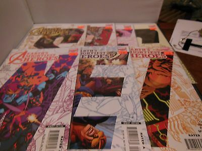 Avengers Earths Mightiest Heroes 2 #2-8 RUN LOT (2004) Marvel 2 3 4 5 6 7 8