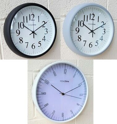 Hometime Kitchen Wall Clock Modern Home Office 30cm Arabic Numerals