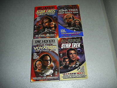 Star Trek Day of Honor TOS DS9 VOY TNG complete Carey Smith Full Set Lot 1 2 3 4