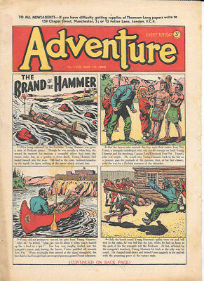 Adventure 1439 (Aug 16, 1952) very high grade copy