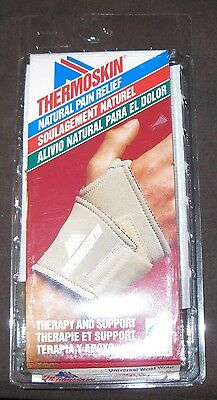 Universal Wrist Wrap Thermoskin, BEIGE, NEW, LARGE/EXTRA LARGE FAST SHIPPING !