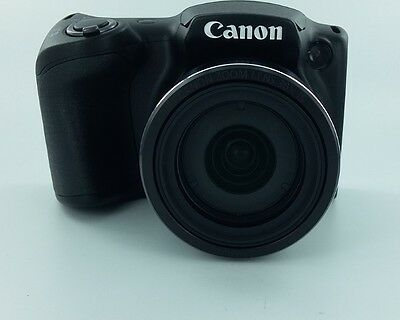 Canon PowerShot SX400 IS Digital Camera with 30x Optical Zoom (Black) -Open Box