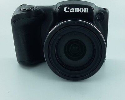 Canon PowerShot SX400 IS Digital Camera with 30x Optical Zoom (Black)