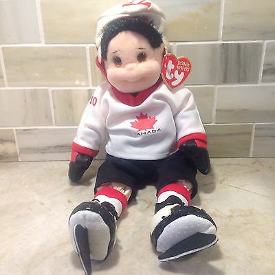 Ty Beanie Boppers Hat Tricks Hunter Canada Hockey Player