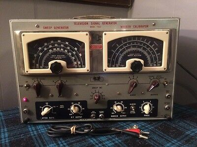 Jackson Television Signal Generator TVG2 Powers Up Very Cool Looking