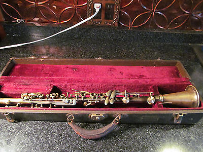 Ludwig Antique Bb Clarinet no 3990 Rare Unique, Estate Find Early 1900s