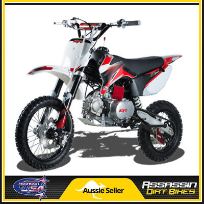 TR 110 SEMI AUTO 110cc 4 STROKE ASSASSIN DIRT BIKE USA MOTOR PIT MINI TRAIL PRO