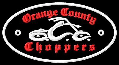 Orange County Choppers  Aufnäher iron-on patch