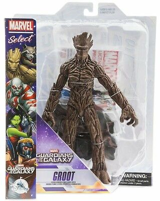 Special Collector Edition Marvel Select Guardians Of The Galaxy Groot Figure