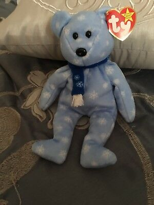 Ty Beanie Baby Holiday Teddy - 1999  - New - Never played with.