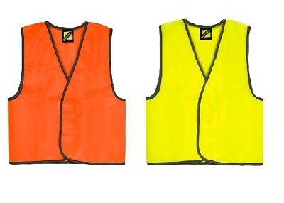 Kids Hi Vis Vest School Safety 10 Pack