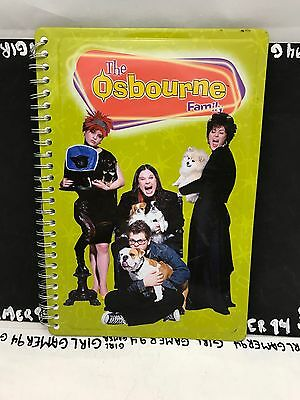 The Osbourne Family - Ozzy Osbourne - Promo Metal Cover Notebook/Journal/Planner