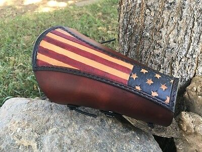 Archery Arm Guard/bracer Stars Forward/old Glory/american Flag / Made In Usa !!!