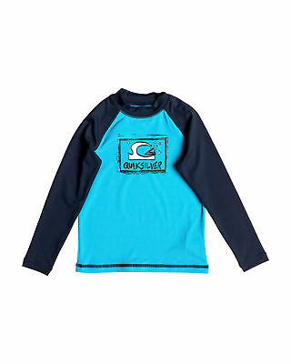 NEW QUIKSILVER™  Boys 2-7 Bubble Dream Long Sleeve Rash Vest Boys Children