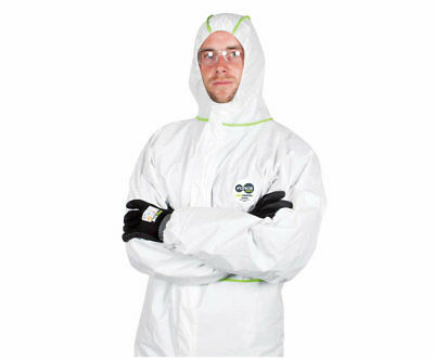 Coveralls-Disposable-Force360-Maxrepel-Coverall-Type-4-5-6 Size Large 6 pack