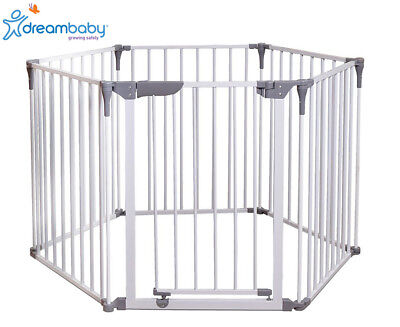 Dreambaby Royale Converta 3-in-1 Play-Pen Gate - White/Grey