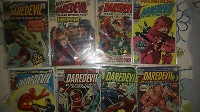 Daredevil key comic book lot