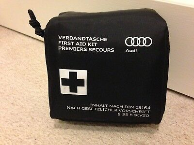 Audi First Aid Kit - TT Q7 A4 A8 S4 RS4 - Expiry October 2020 - Car Part