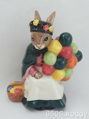 RARE! Royal Doulton Bunnykins - **OLD BALLOON SELLER * DB217 - Excellent