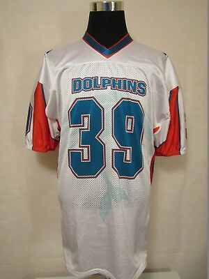 Dolphins #39 XL American Football On field Cut Printed Jersey by Alleson