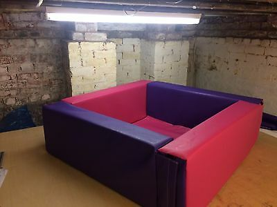 Commercial Soft Play Foam Ball Pool Pit 4ft6 x 4ft6