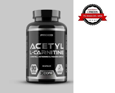 Acetil L-Carnitina Ss 90 Caps Xcore + Proteine Whey