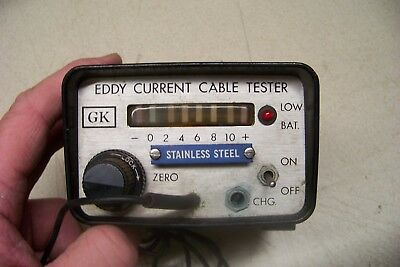Eddy Current Cable Tester GK Stainless Steel Model F1PA-093-SS