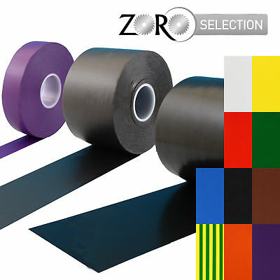 Zoro Selection Isolierband weiß 19mm x 33m PVC Elektro Isolierband