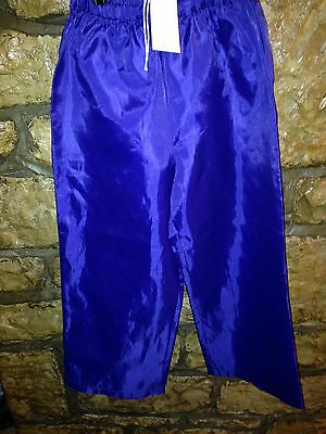 """Concord Purple Child 20""""-22"""" Waist Waterproof Over Trousers"""