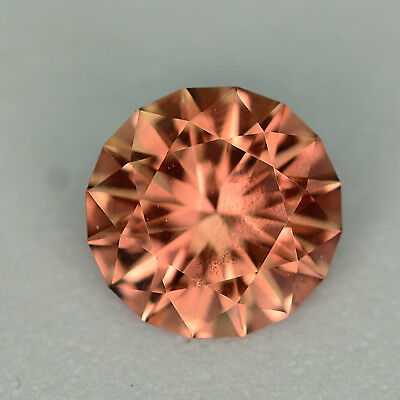 CUSTOM CUT - 7.5MM - 1.30ct - OREGON SUNSTONE - USA