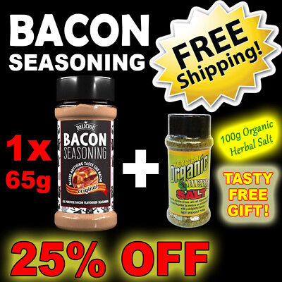 Bacon Seasoning REFILL PACKET = 1 Bottle ~ Deliciou ~ 30% OFF + FREE SHIPPING
